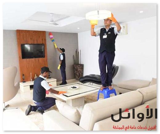شركة تنظيف منازل بالرياض عاملات